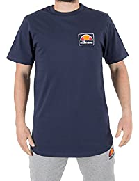 Ellesse Homme Emeroni poitrine Logo T-shirt, Bleu