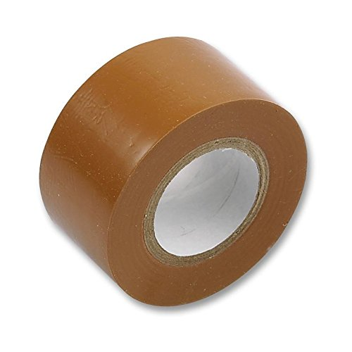Price comparison product image Insulation Tape PVC Electrical, 19MM x 20M, Brown / EJC Avenue