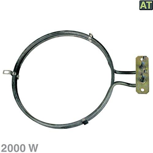Resistencia del Horno de aire caliente Calefacción 2000W como eléctrico Lux AEG...