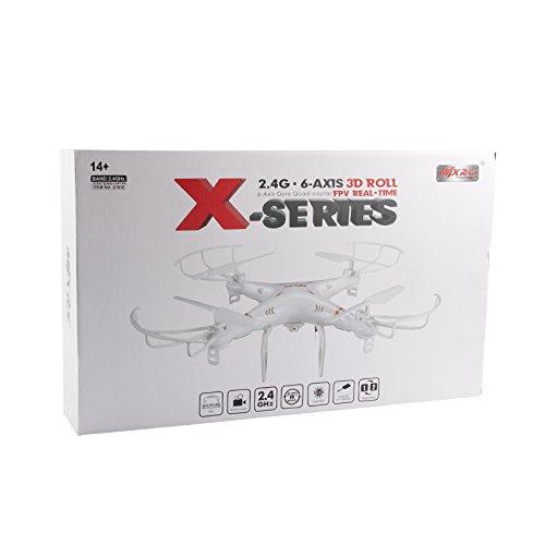 s-idee 01520 Quadrocopter MJX X705C Wifi HD Kamera MJX C4010 in 720p High Definition mit Tonaufzeichnung, 2.4 GHz, 4-Kanal, 6-AXIS Stabilization System - 4