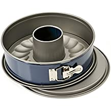 KAISER Springform mit Rohrboden Ø 28 cm Energy gute Antihaftbeschichtung 30% kürzere Backzeit Auslaufschutz