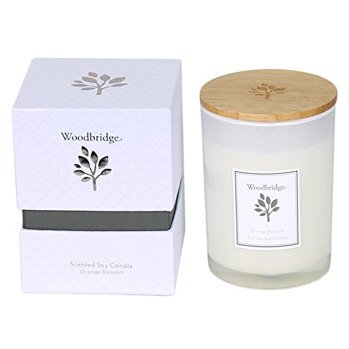 WOODBRIDGE (orange blossom Medium Soja Kerze