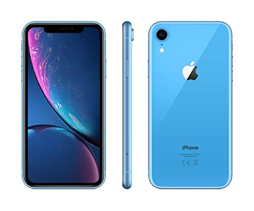 "Apple iPhone XR 15.5 cm (6.1"") 64 GB Dual SIM 4G Blue"