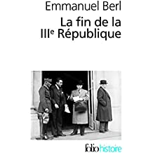 La fin de la IIIᵉ République