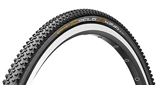 Continental Faltreifen CycloX-King RS, Black/Black Skin, One size, 0100451 -