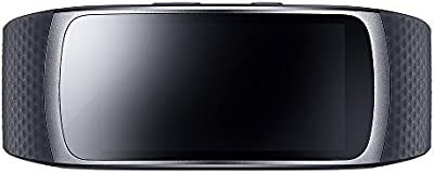 Samsung SM-R3600DANXEF Gear Fit - Bbrazalete de fitness con GPS (2 unidades, tamaño: S), color negro