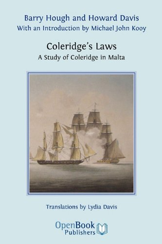 Coleridge's Laws. a Study of Coleridge in Malta. by Barry Hough (2010-01-01)
