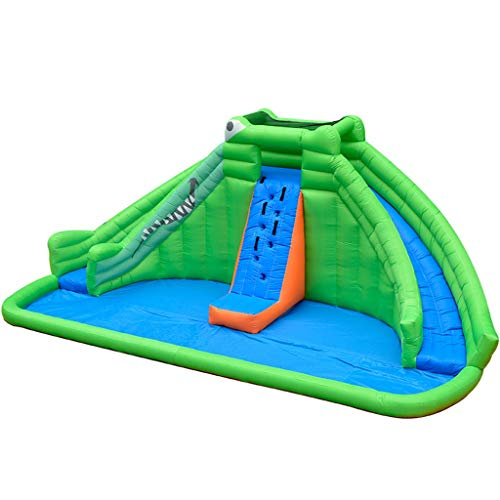Bouncy Castles Sports Toys Children's Slide Household Inflatable Trampoline Children's Inflatable Playground Children's Outdoor Garden Castle Children's Summer Paddling Pool Large Inflatable Toy