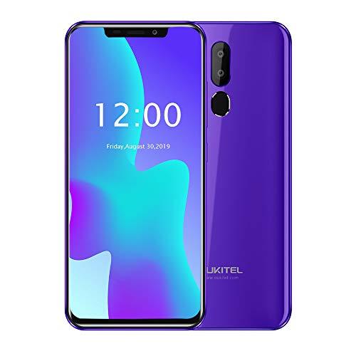 Cellulari Offerte,OUKITEL C12 Pro 4G Cellulari e Smartphone,6.18 Pollici (rapporto 19: 9), Dual SIM con Android 8.1, 3300 mAh Batteria, MTK6739 a 1,5 GHz,Quad Core 2GB RAM 16GB ROM-porpora