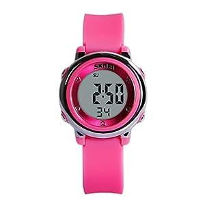 Hiwatch Orologio Bambina Sportivo Impermeabile Digitali per i Giovani e Bambine Ragazze Rosa