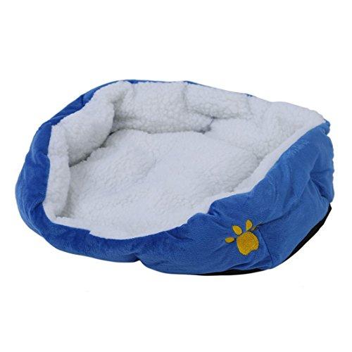 Toogoo(r) cestino natale cuscino matrimonio bambino cane cat animale 46 * 42 * 15cm blu taglia piccola