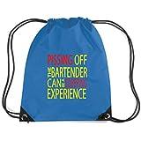 Cotton Island - Rucksack Budget Gymsac BEER0269 Pissing Off the Bartender
