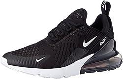 Nike Herren AIR MAX 270 Sneakers, Mehrfarbig (Black/Anthracite/White/Solar Red 002), 41 EU