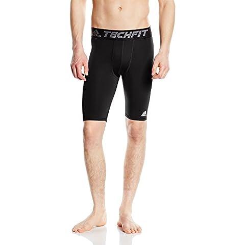 adidas TF Base ST - Pantalón corto para hombre, color negro, talla L