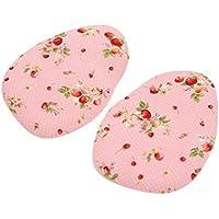 sourcingmap® 1 Paar rosa Gel Blumenmuster Hackenschuhe Bequem Vorfuß Fußkissen Einlegesohle preisvergleich bei billige-tabletten.eu