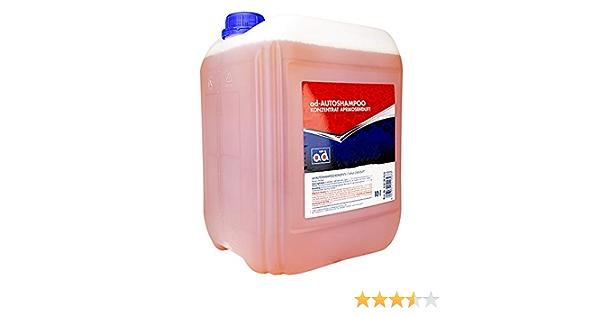 Ad Chemie Autoshampoo 10l Kanister Aprikosenduft Konzentrat Shampoo Auto Autoschampoo Bürste Autopflege Auto Shampoo Element 4725010042 Auto