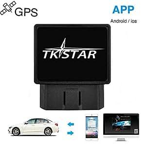 Juneo Tkstar GPS Tracker monitoraggio in tempo reale GPS Tracker auto camion veicolo mini GSM GPRS GPS Tracker OBD TK816