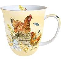 Tasse Tischdeko Ostern Porzellantasse NARZISSEN 0,4l AmbienteDaffodils