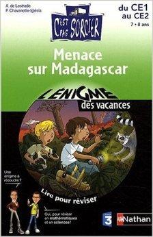 Menace sur Madagascar : Lire pour réviser, maths et sciences du CE1 au CE2 de Agnès de Lestrade,Pascale Chavanette-Iglesia,Paul Beaupère (Illustrations) ( 4 avril 2009 )