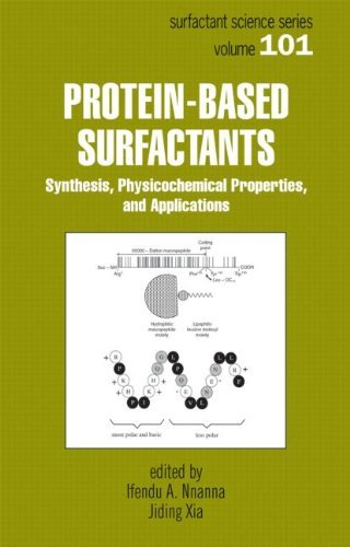 Protein-Based Surfactants: Synthesis: Physicochemical Properties, and Applications (Surfactant Science) by Jiding Xia (2001-06-06)