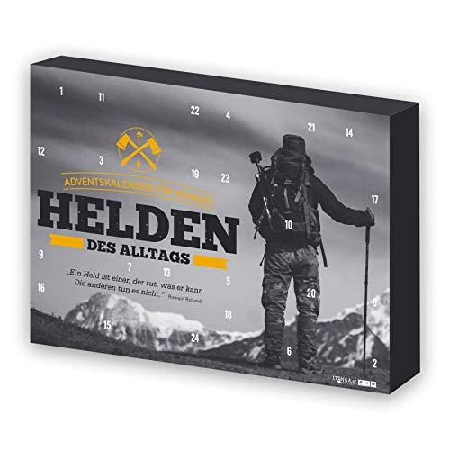 itenga Adventskalender für Männer Helden des Alltags gefüllt mit 24 Überraschungen für den Mann