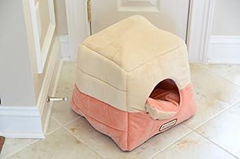 Armarkat Grotte Forme pour animal domestique Chat Lits pour chats et petits Dogs-waterproof et Skid-free Base