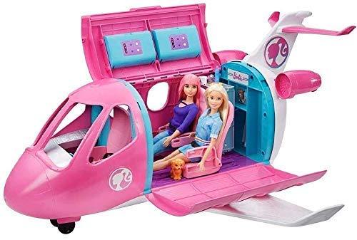 Barbie Aereo Playset Veicolo e Accessori Bambola Non Inclusa Giocattolo per Bambini 3+ Anni GDG76
