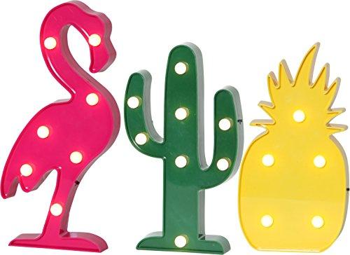 3er-set-led-flamingo-kaktus-ananas-tropical-fruit-batteriebetrieb