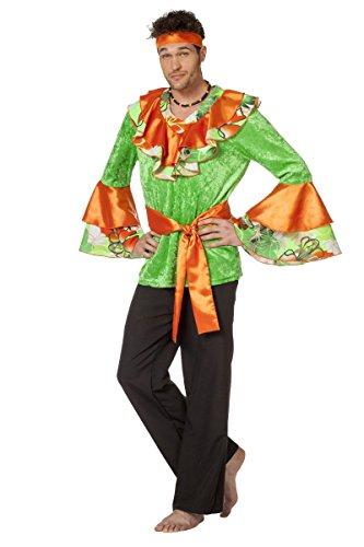 Männer Kostüm Samba - Herren Kostüm Karibik Südamerika Samba Hemd Karneval Fasching Gr.54