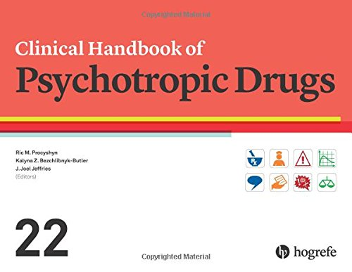 Clinical Handbook of Psychotropic Drugs 2017