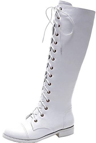 elehot-femme-elepartly-plat-25cm-souple-bottes-blanc-39