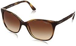 Vogue Gradient Square WomenS Sunglasses - (0Vo5032Sw6561354 53. 9 Brown Gradient)