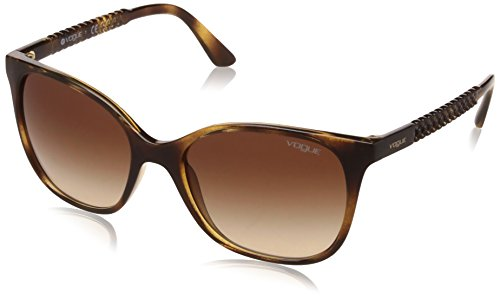 Vogue Gradient Square Women'S Sunglasses - (0Vo5032Sw6561354|53. 9|Brown Gradient) image