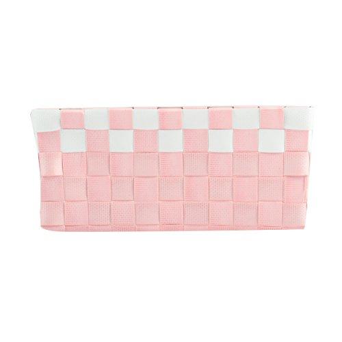 MSV Panier, Rose pastel/blanc, Unique