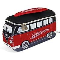 VW Collection by BRISA Kulturbeutel Universaltasche im VW Bus T1 Design aus Neopren