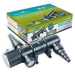 All Pond Solutions EURO-CUV-211 Teich Uv Licht Sterilisator/Klärer Filter 11w Alle Pond Lösungen Cuv-211