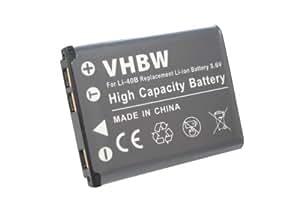 vhbw Akku 500mAh für Kamera Rollei 320, CL320, CL-320, 350, CL350, CL-350, 360TS, 360TS, CL360TS, CL-360TS, 370TS, 370TS