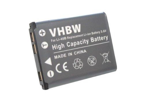 vhbw Akku 500mAh für Kamera Kodak Easyshare M873, M883, M530, M550, M565, M575, M580, M5350, TouchM5370, Mini, Mini200, Touch