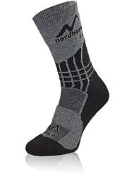 NORDHORN ® Chaussettes de randonnée / trekking - PRIMALOFT / COOLMAX