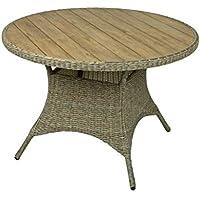 Suchergebnis Auf Amazon De Fur Polyrattan Tisch Rund Garten