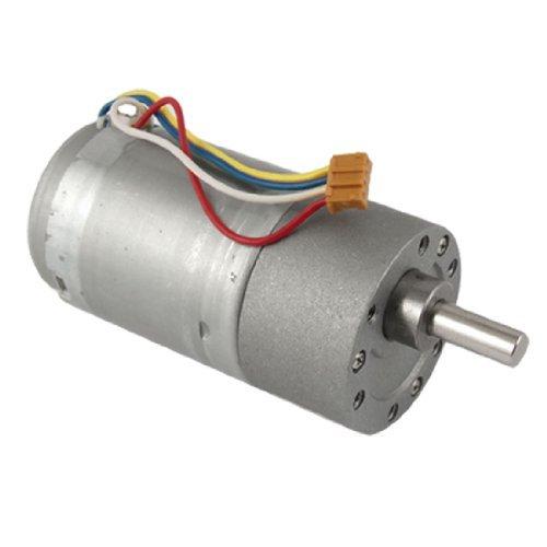 Preisvergleich Produktbild DealMux 200rpm 12V 0.13A High Torque Elektro-DC-Getriebemotor 37mm