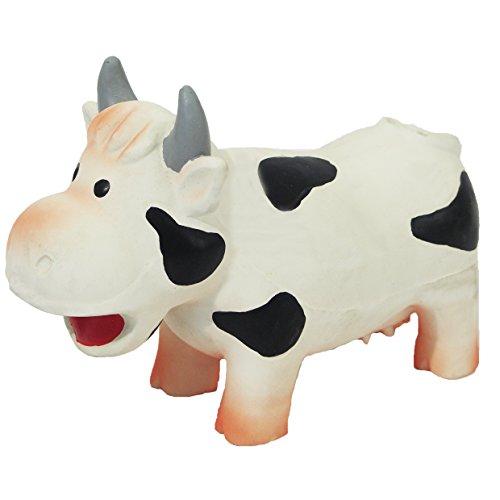 Rosewood 20635 Grunters Latex-Hundespielzeug - Kuh Hundespielzeug