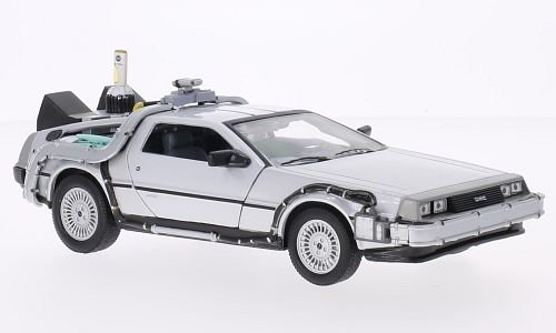 DeLorean Back to the future II, Modellauto, Fertigmodell, Welly 1:24