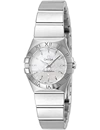 Omega Constellation Brushed Quartz 123.10.24.60.05.001