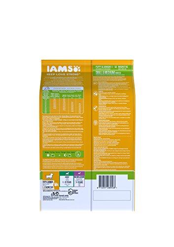 IAMS for Vitality Small/Medium Breed Puppy Dry Dog Food with Fresh Chicken, 3 kg 2