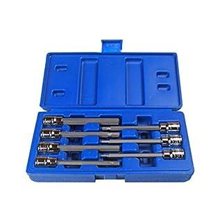 US PRO Long 7pc 3/8 HEX BIT SOCKET SET 3-10mm allen key B1399