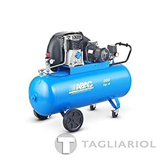 ABAC PRO A39B 200CT4Professional-200L Compressed Air Compressor Engine 4hp