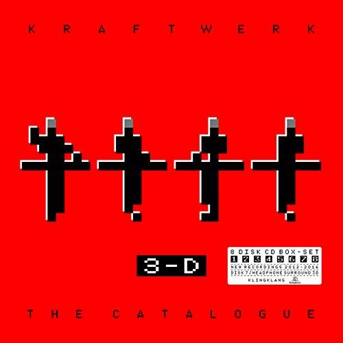 Kraftwerk: 3-D The Catalogue – English Version (CD Box Set) (8 CD) (Audio CD)