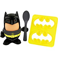 DC Comics Official Batman Egg Topper, Egg Cup and Toast Cutter - Boxed