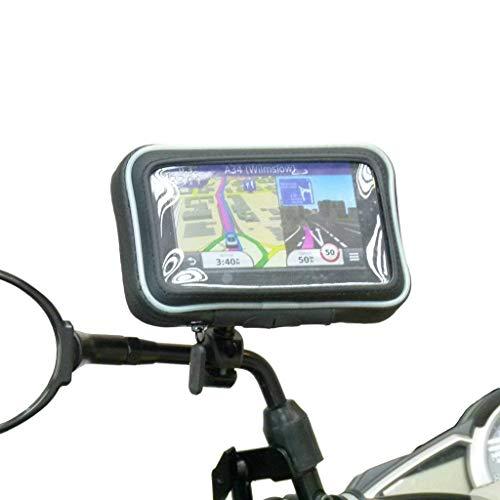 Wasserdichte Motorrad Spiegel Halterung für Garmin Nuvi 2519 2519LM ( Sku 31132 ) (Garmin Nüvi Halterung Motorrad)